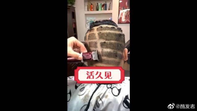 厉害了我的哥,发型剪成这个样子,这要是再大街上,回头率百分百!