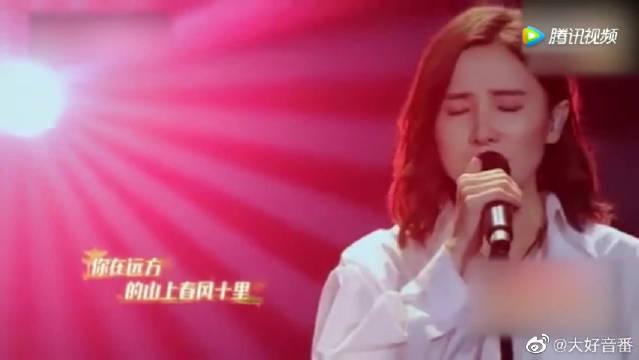 宋佳演唱《春风十里》开口跪!不输原唱!