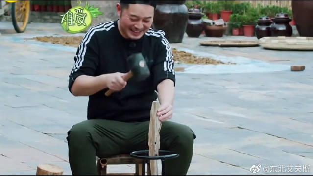 沙溢一到蘑菇屋就开始干活,黄磊调侃:不祸祸他不过瘾!沙溢