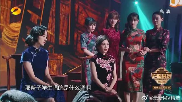 金陵十三钗话剧,姐妹们都换上学生服,观众们都掉泪