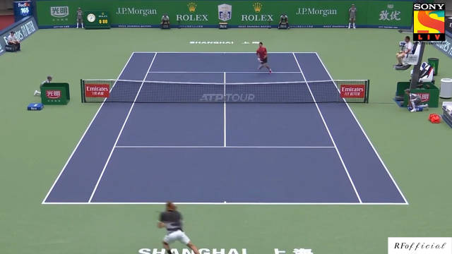 上海大师赛QF:卫冕冠军德约科维奇以6-3/5-7/3-6遭西西帕斯逆转