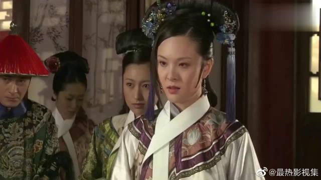 华妃失宠迁怒曹贵人弄乱头发,想起了温宜公主,赐凤穿芍药步摇!