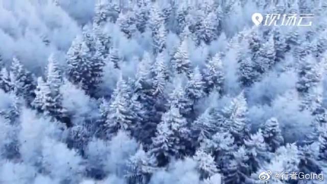 现实版冰雪奇缘美景,来丰都南天湖,找属于你的冰雪奇缘