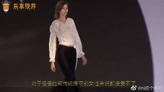 外国姑娘穿透视装出街,结果回头率爆棚,场面难以形容