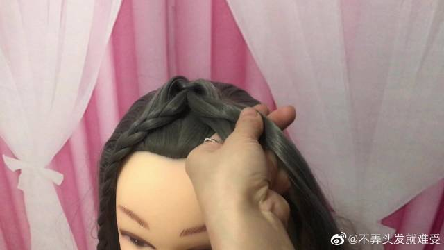 360度看起来都很美的仙女披肩发,真是太美了