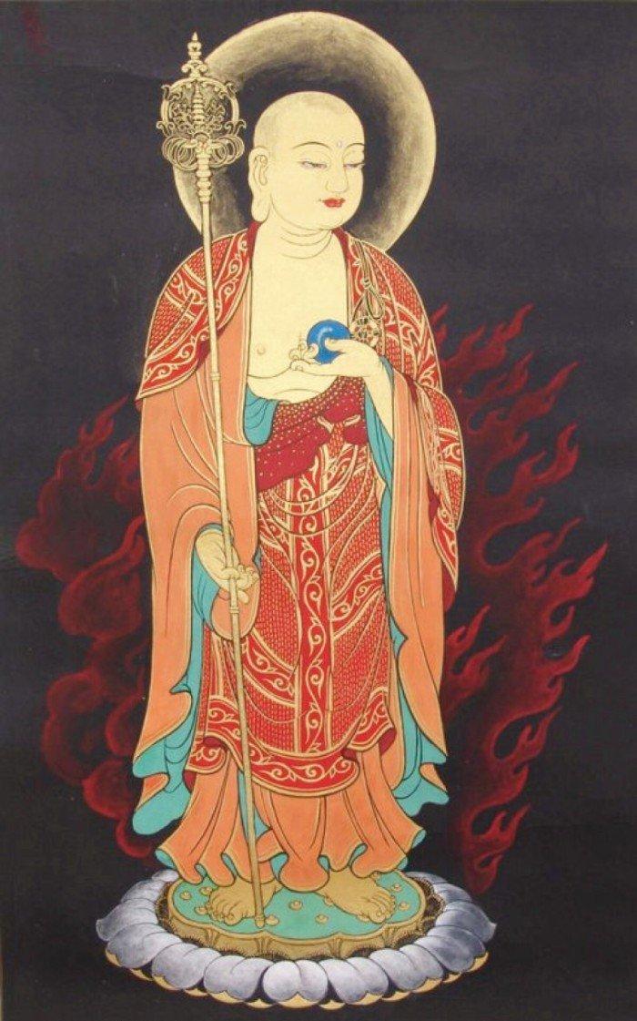 今天是地藏王菩萨节日,值此殊胜日请大家持清净、广大发心