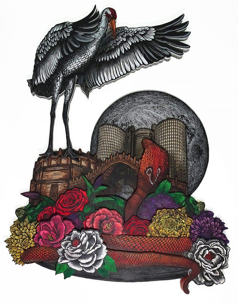 """今日分享 NO.2219 展览""""On Broken Wings"""" @微博美学 创作人"""