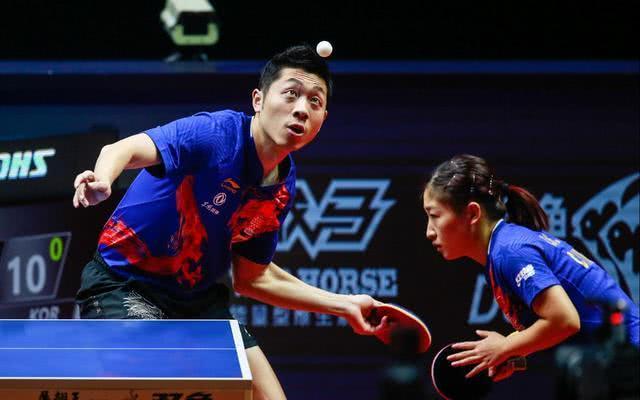 张继科观战,刘诗雯和许昕夺冠后有多少奖金?能否锁定奥运混双?