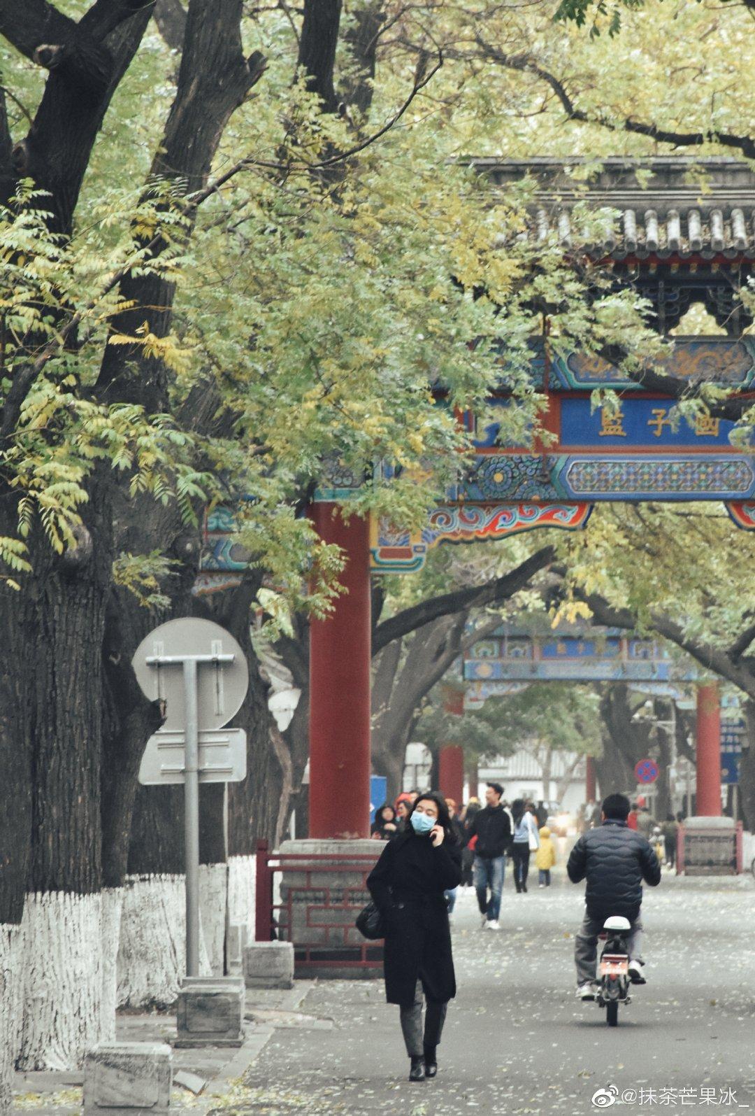 -时间过去了 建筑还在——北京国子监和五道营胡同摄影@抹茶芒