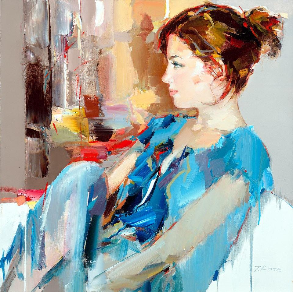 来自阿尔巴尼亚艺术家Josef Kote的一组作品~