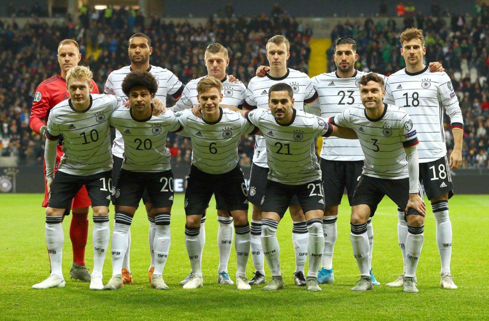 欧洲杯预选赛:德国6-1北爱尔兰,克罗斯以队长身份首发出场