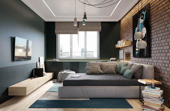 优雅精致的 北欧风格公寓设计。