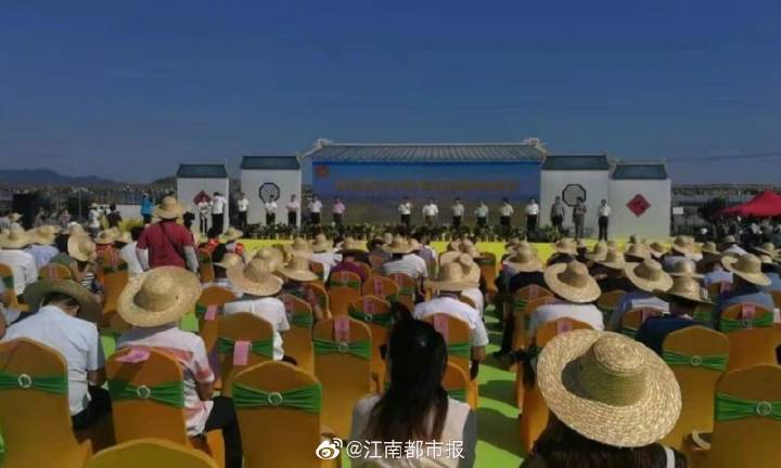 渝水区2019年中国农民丰收节盛大开幕