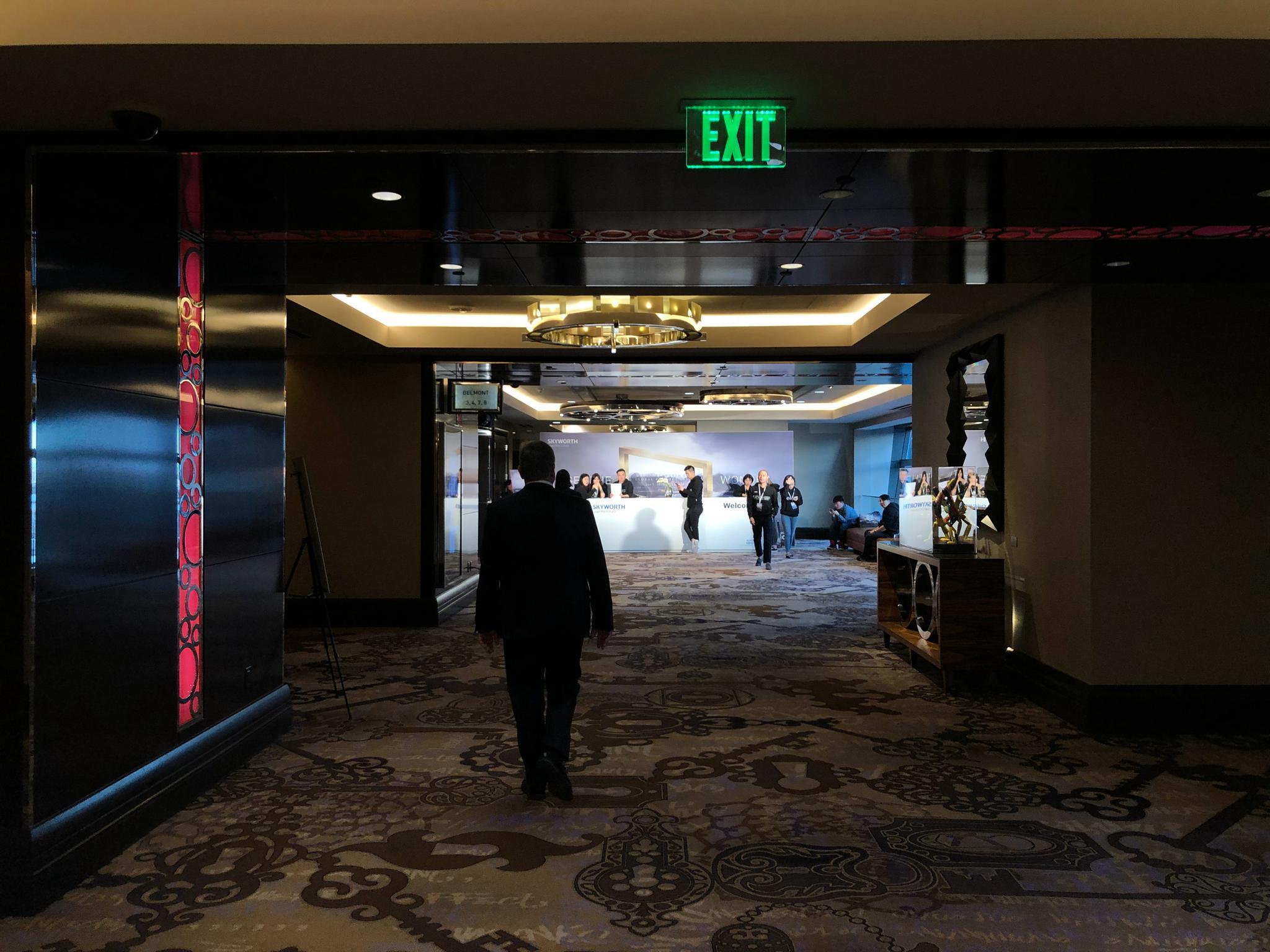 拉斯维加斯,当地时间1月5日 16:30,在拉斯维加斯大都会酒店