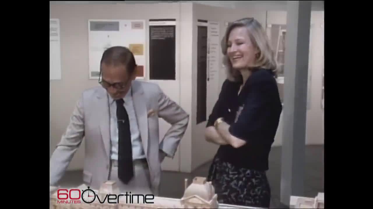 贝聿铭1987年的访谈。那时法国总统钦点他去弄罗浮宫
