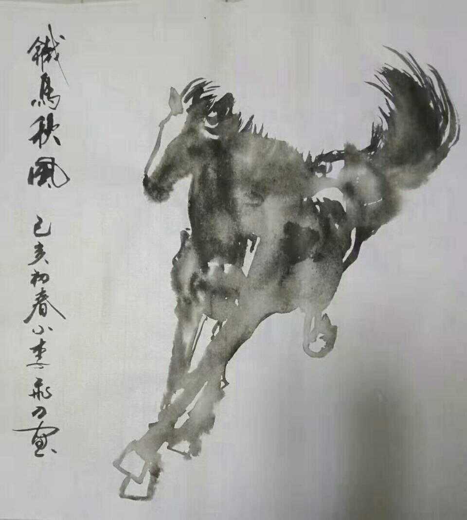 衡水年轻书画家周治鲲——小李飞刀部分书画作品