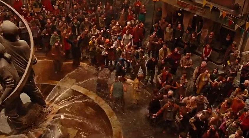 3分钟看完人类建立地宫生存了200年的奇幻片《微光城市》 一三电影