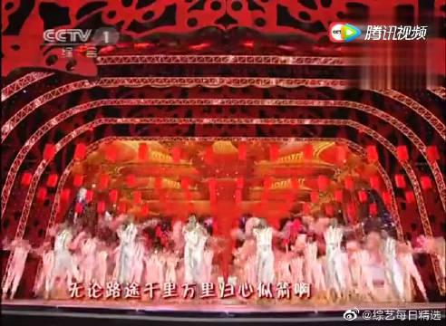 韩庚、董洁、窦骁、周冬雨春晚合唱的《回家过年》