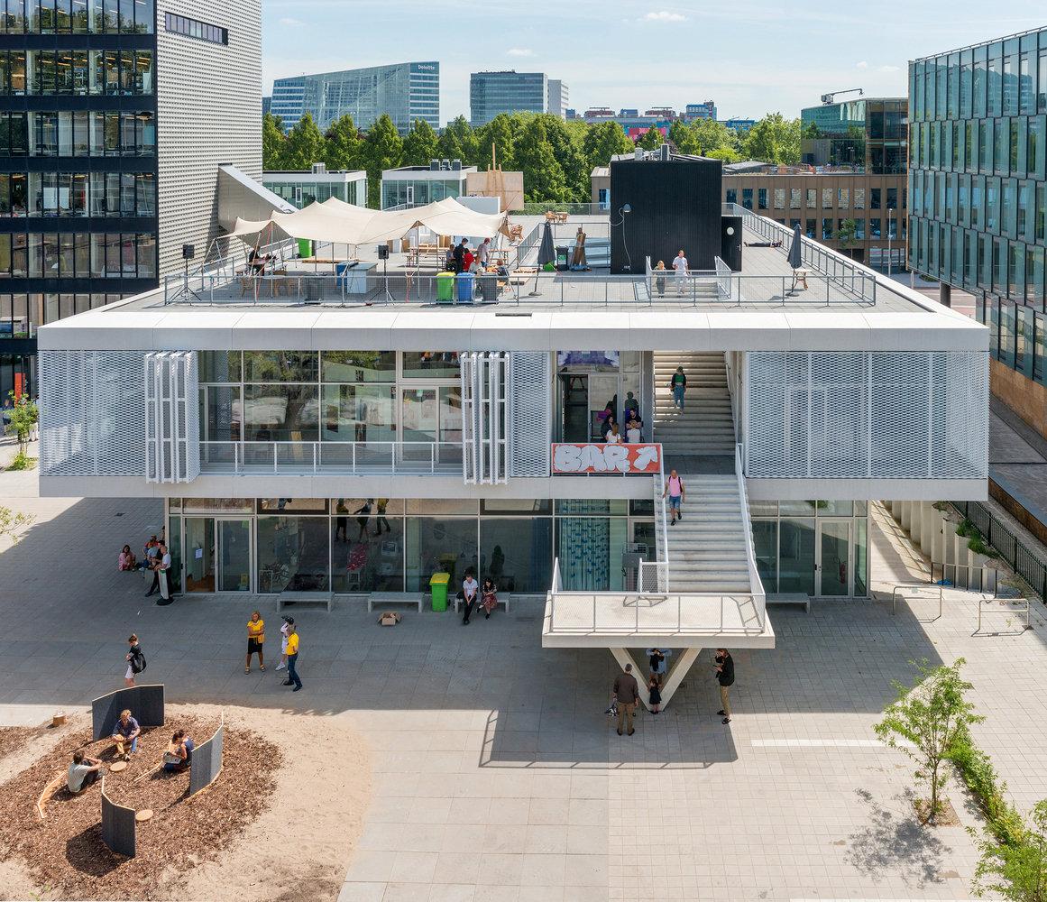阿姆斯特丹皇家艺术学院·桑德伯格学院新建校舍