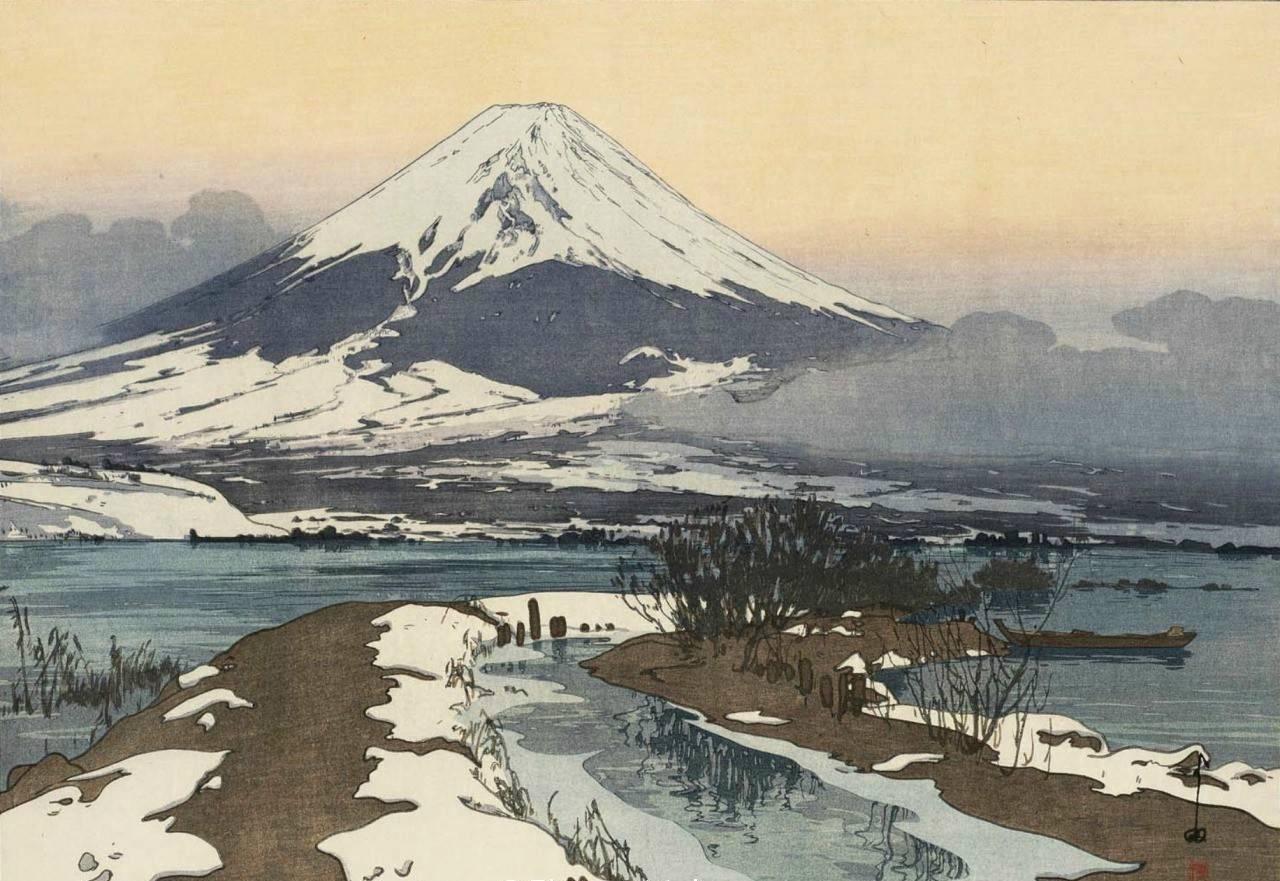 日本版画家 吉田博