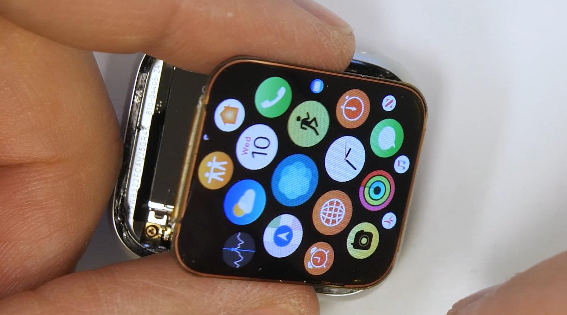 外媒大神JRE修复Apple Watch4破碎屏幕,比手机换屏复杂得多