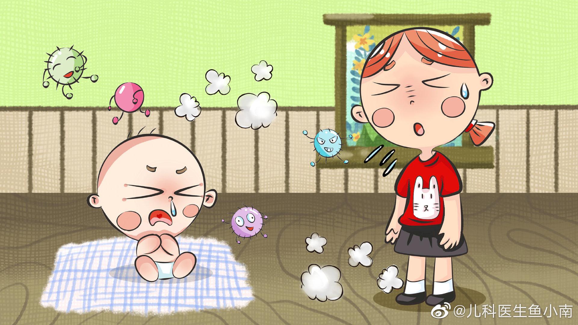 宝宝为什么容易支气管炎反复发作