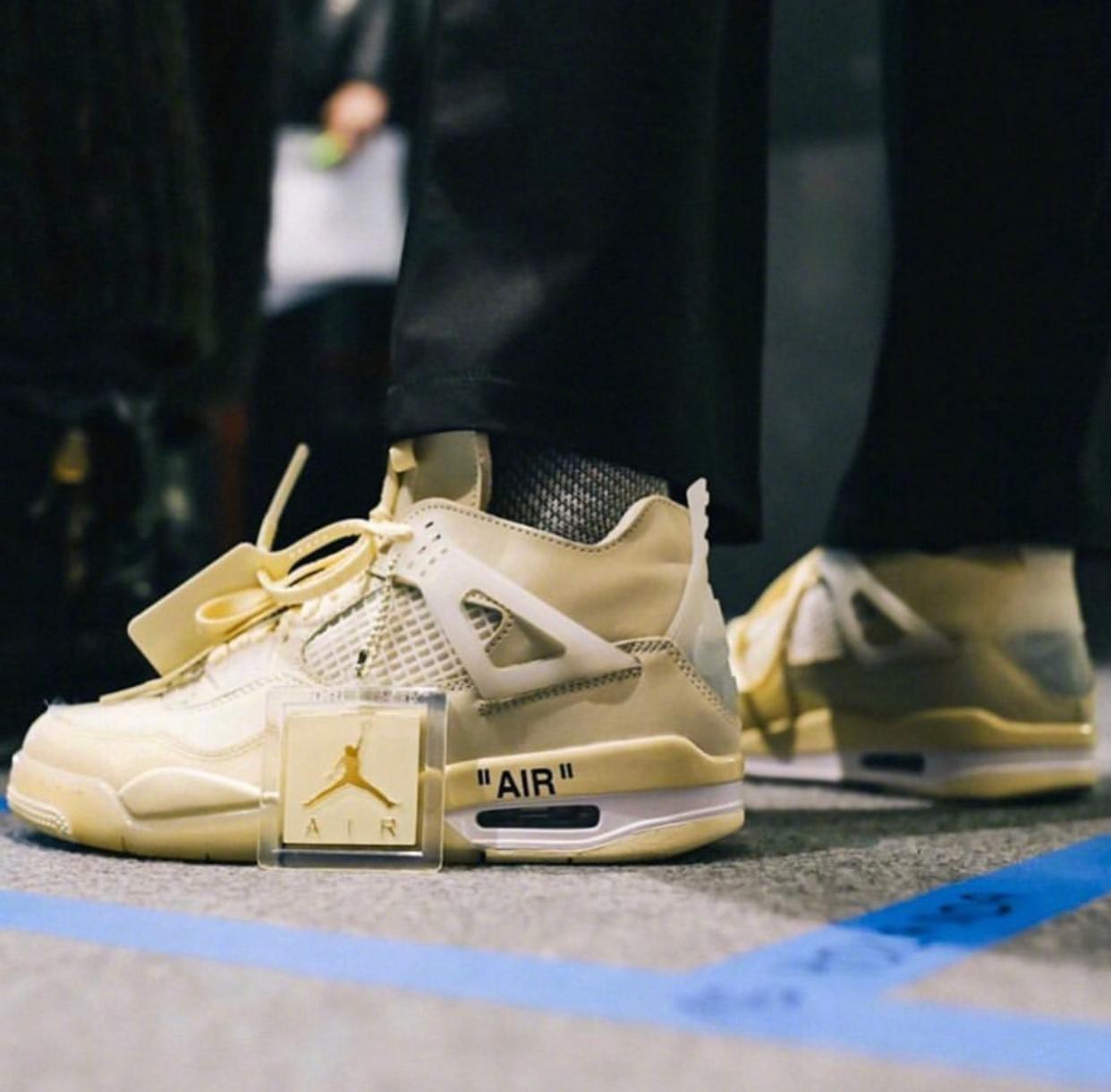 我们对OW鞋款的态度就是 - 看看就好。  solebyjc