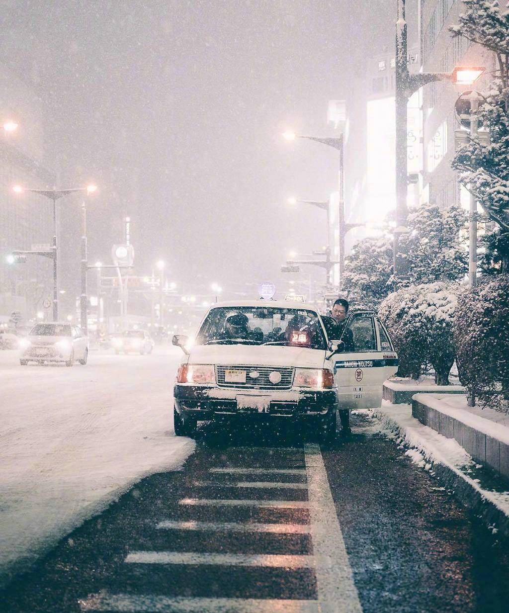 日本北海道的冬日雪景 ins:taromoberly