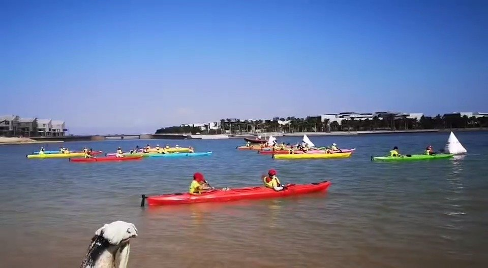 2019海南亲水运动季环海南岛皮划艇巡回赛暨千人皮划艇水上趣味嘉年华