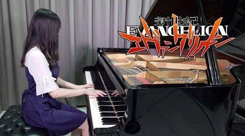 《EVA》主题曲《残酷天使的行动纲领A Cruel Angel's Thesis》钢琴曲