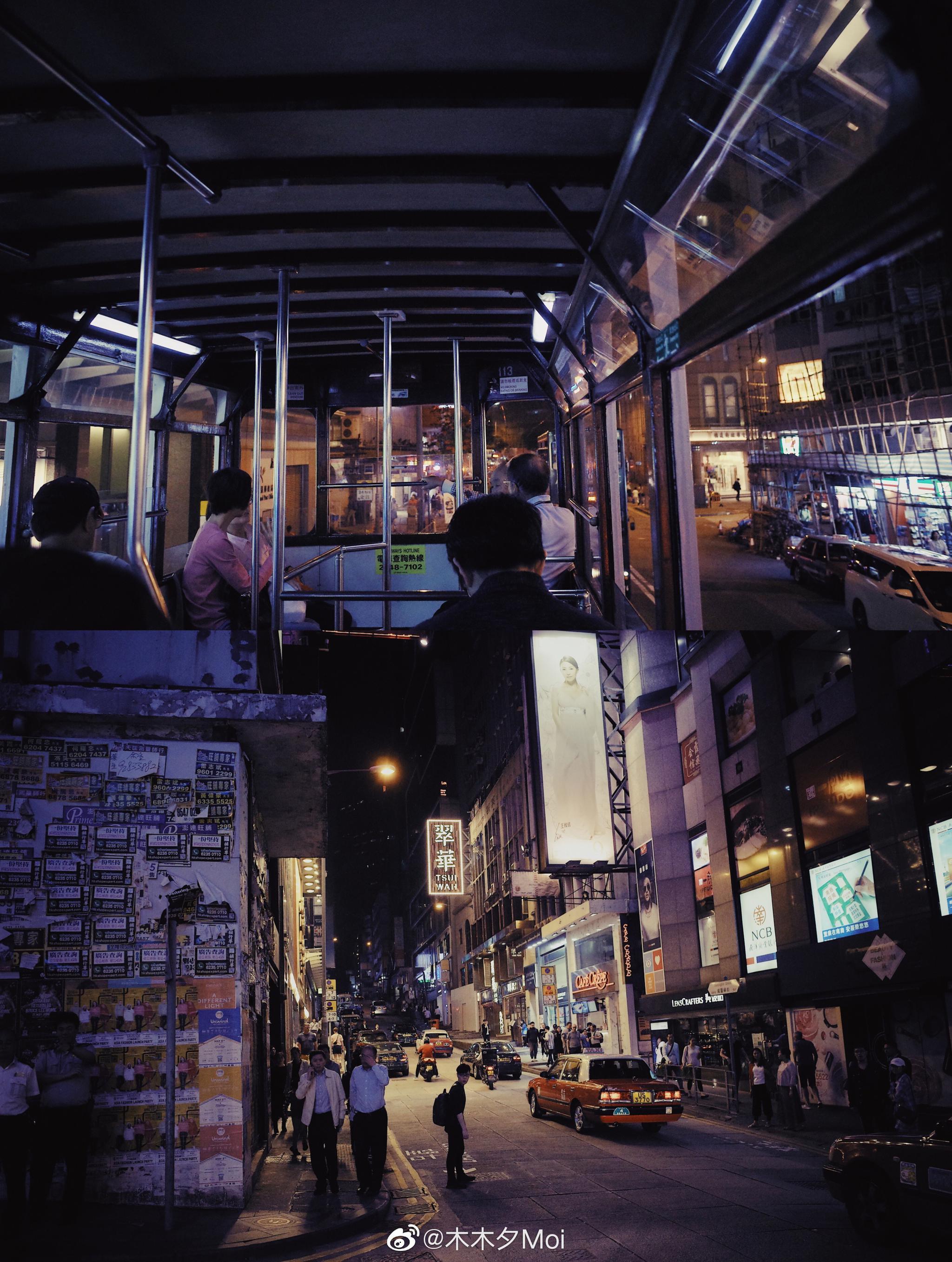 曾经是我爱的霓虹灯下的香港/  by 理光gr2