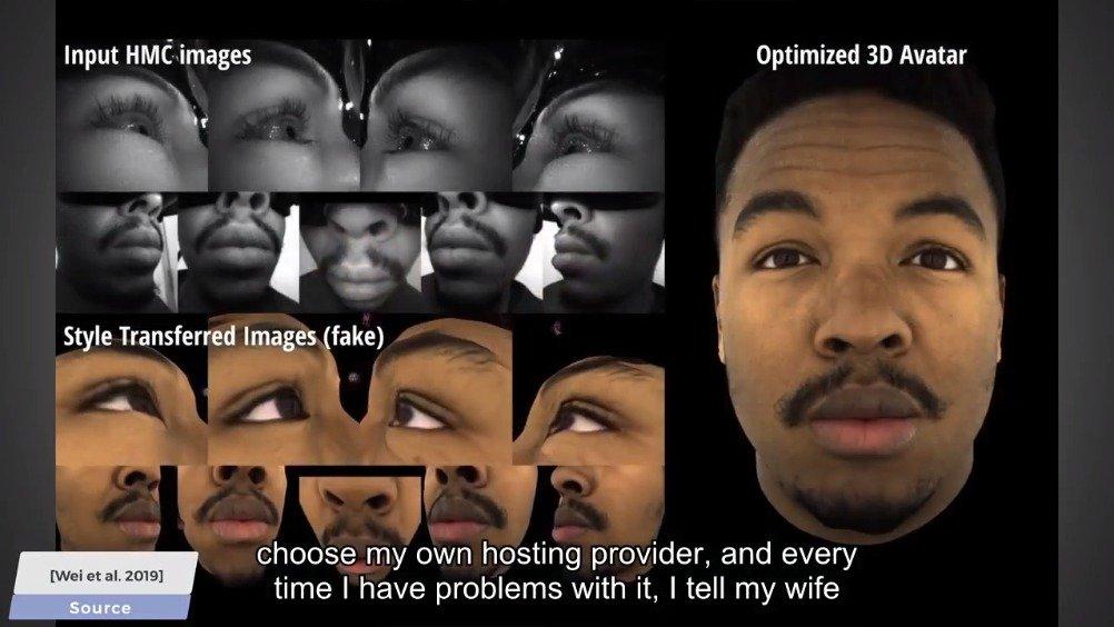 两分钟论文解读之VR动感全脸