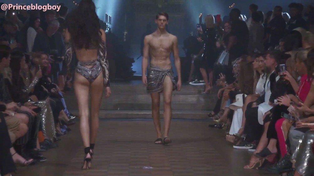 伦敦时装周Julien Macdonald 2020春夏秀上登台走秀的九位男模们 一