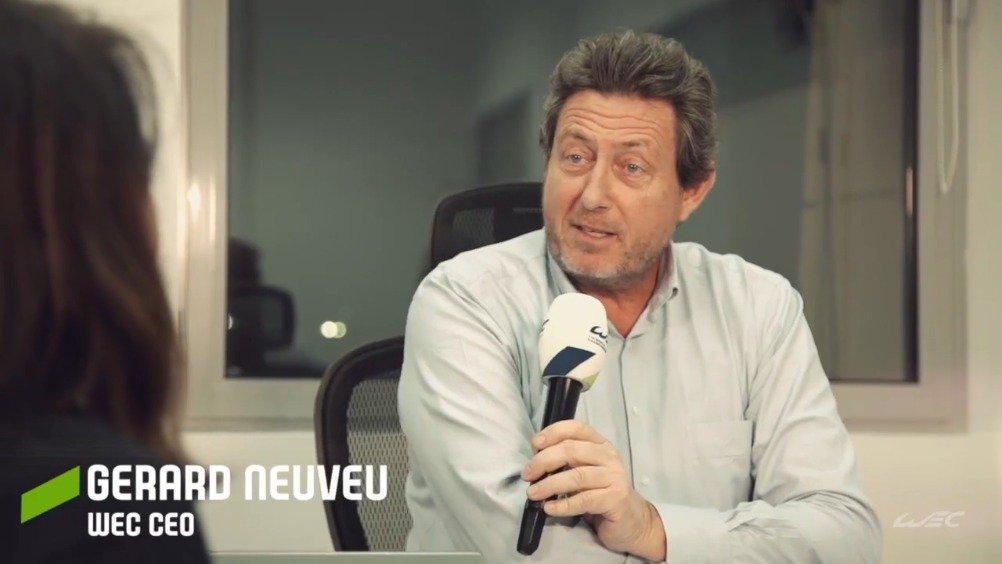视频-世界汽车耐力锦标赛CEO杰拉德解读WEC新赛历