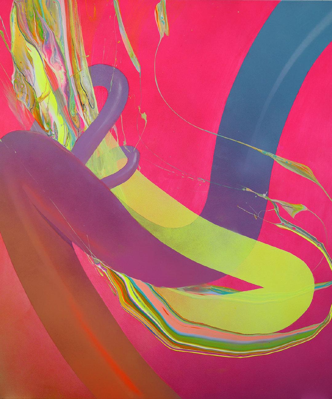 """新泽西艺术家 Erik Minter 结合抽象和""""超现实的形象"""""""
