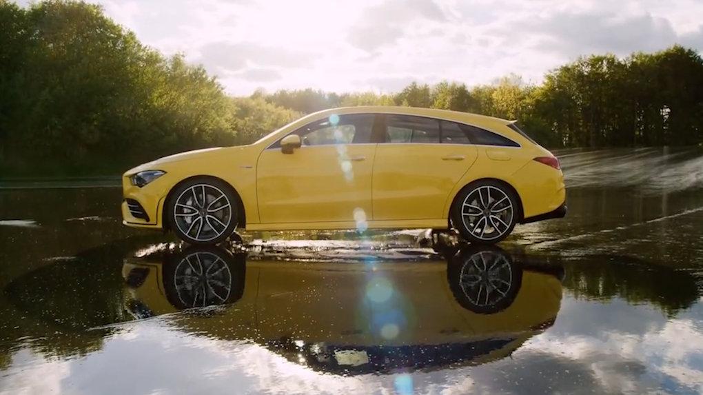 2020 奔驰 AMG CLA 35 猎装版 – 内外饰及官方驾驶视频