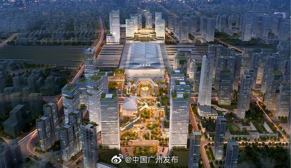 广州北站最新规划出炉!将引入6条高铁、城际