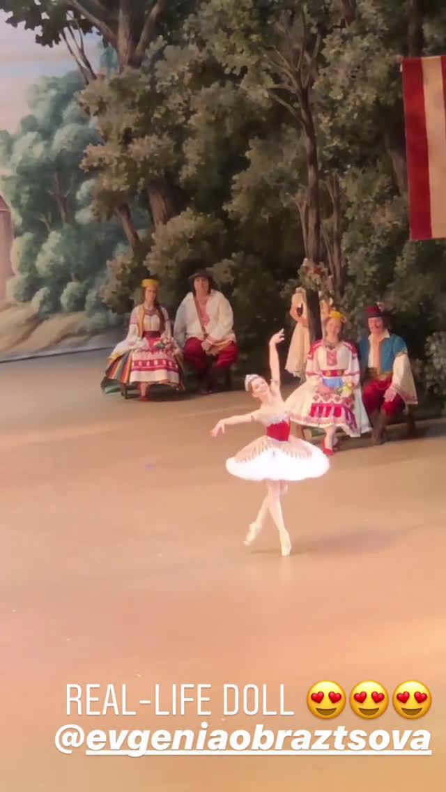 莫斯科大剧院 2019年12月10日 葛蓓莉娅 三幕大双coda Evgenia Obrazt