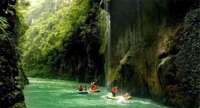 贵阳十大著名旅游景点,白马峪温泉,温泉水里含有多种微量元素
