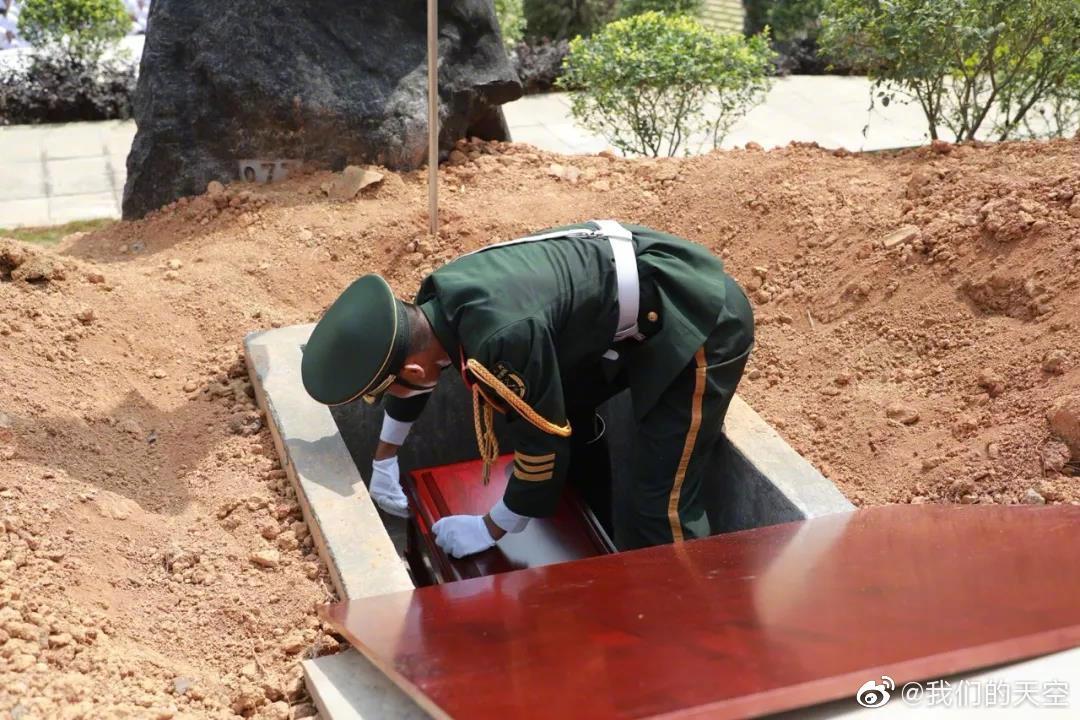 向英雄致敬!湘江战役英烈忠骨在桂林全州安葬