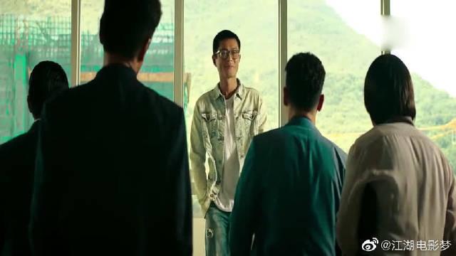 窃听风云:刘青云向古天乐下跪,古天乐:我要你一条腿