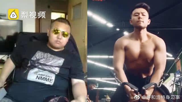280斤小伙因太胖遭分手,10个月狂瘦150斤变肌肉猛男
