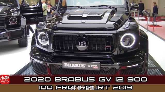 2020 Brabus GV 12 900 Mercedes -  - ONE OF THE TEN