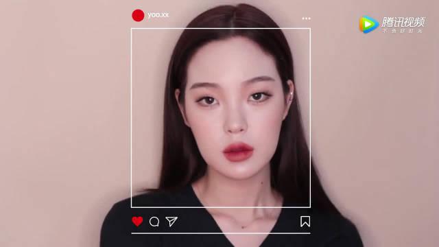 看韩国美妆博主如何化妆的,确实是无暇底妆,底妆真的很棒!