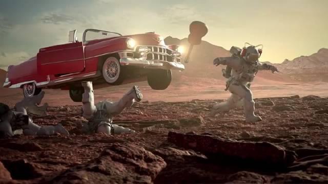 分享一个小动画,讲述宇航员在异星的冒险故事。(Jan Sladecko)