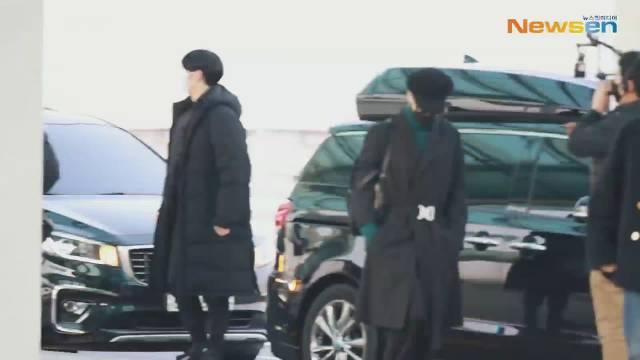 『Only-Jin』  200220 Newswn 更新JIN仁川机场出境视频CUT 一则