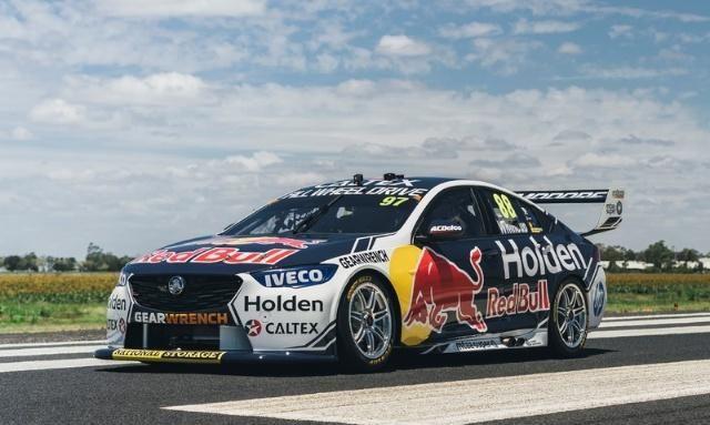 Red Bull Holden Racing车队的Supercars赛车更换新涂装亮相