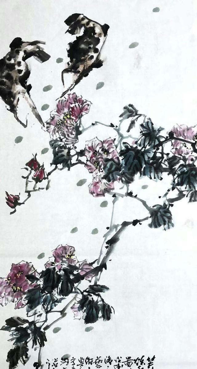 春天里的花事徐鲁