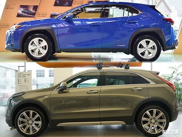二线豪华SUV核心对比 雷克萨斯UX对比凯迪拉克XT4