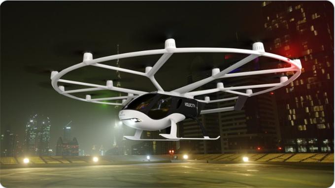 Volocopter获吉利和戴姆勒投资3.9亿元 将布局中国市场